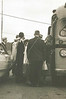1968_05-02; mock nominating convention representing new mexico; loading the bus; rode with waldport