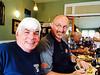 2014_08_10; tom dorsey & wayne king reminiscing over breakfast